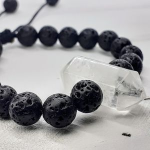 Jewelry - Lava Rock Quartz bracelet